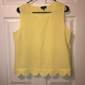 THE LIMITED scalloped tank